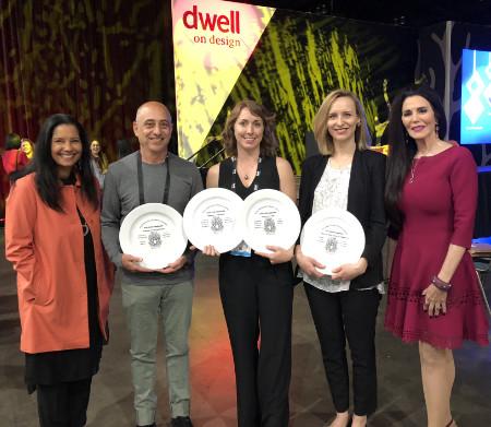 Barbara Lazaroff with the AIA-LA Award Winners