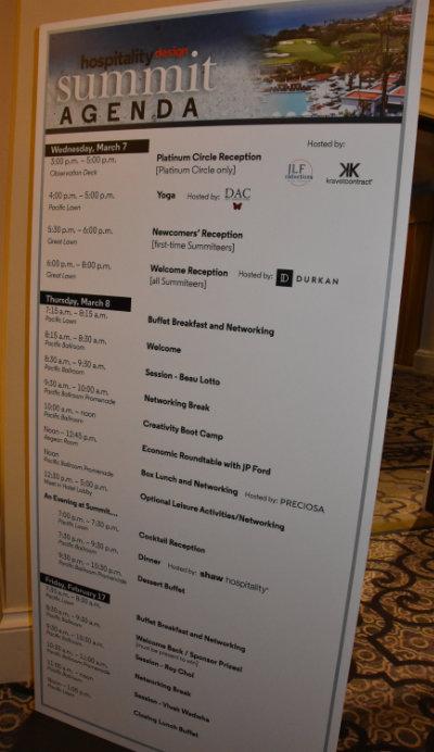 Hospitality Design Summit events