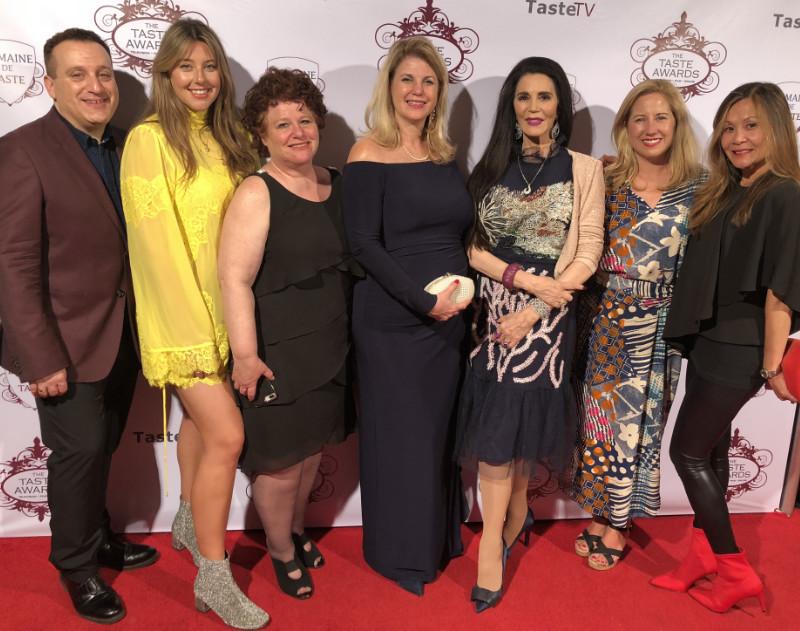 The Taste Awards 2018 Barbara Lazaroff and others