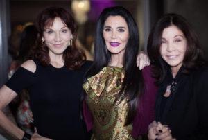 Your Mom Cares 2018 Marilu Henner, hostess Barbara Lazaroff, Jill Zaben