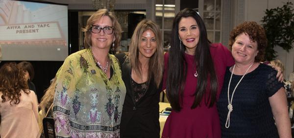 Barbara Lazaroff hosting Aviva Platinum Luncheon at Spago Beverly Hills 9-28-16