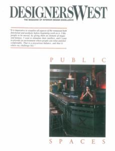 DesginersWest, The Magazine of Interior Design Excellence Eureka! Barbara Lazaroff Strikes Neo-Industrial Gold