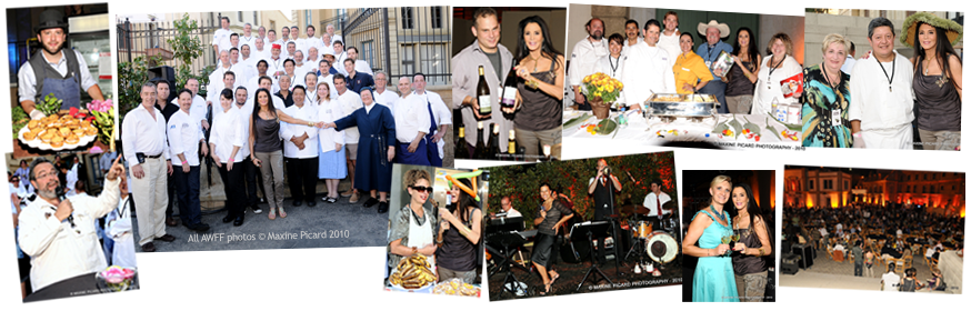 The 28th Annual American Wine & Food Festival, co-founded by Barbara Lazaroff