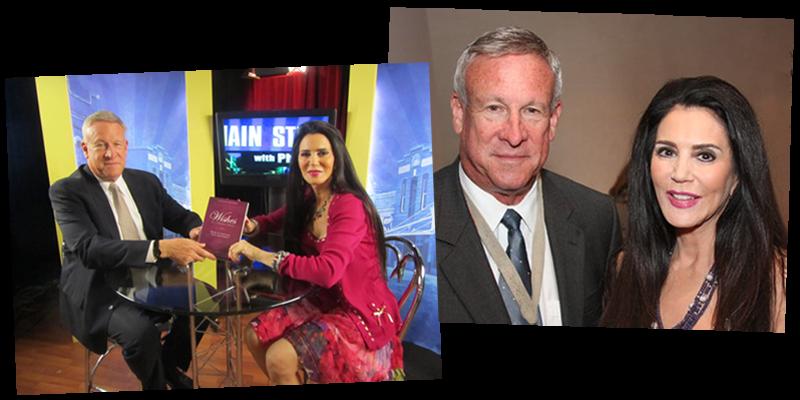 Jewish Live TV's Phil Blazer with Barbara Lazaroff