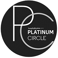 Hospitality Design Platinum Circle Awards logo 2017