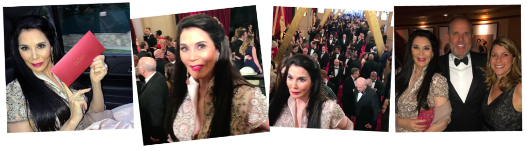 Barbara Lazaroff at the 2017 Oscars