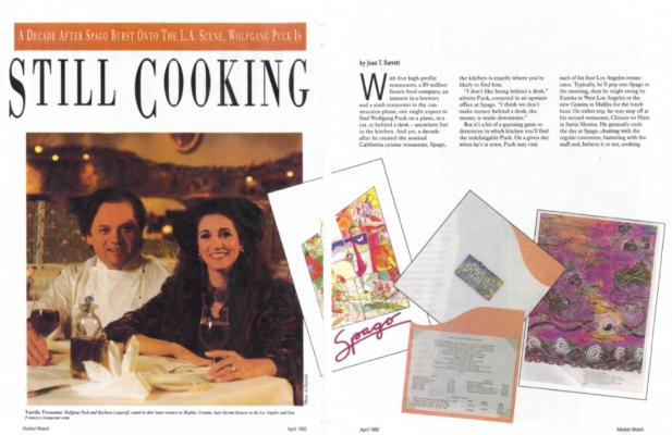 Market Watch magazine - Still Cooking