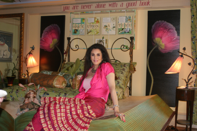 Barbara Lazaroff presents her fantasy girl's bedroom at Beverly Hills' Greystone mansion