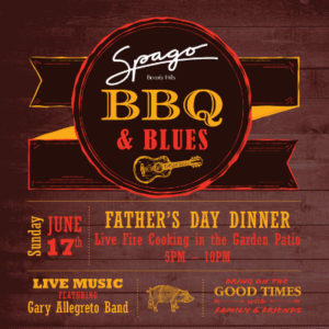 Spago Beverly Hills Father's Day BBQ + Blues Dinner