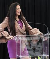 Barbara Lazaroff speaking
